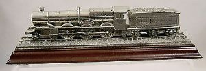 Royal Hampshire Solid Pewter Locomotive 'The King George' - boxed - SOLD